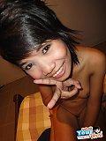 Nice round tits on skinny Thai girlfriend