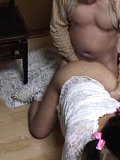 Japanese AV Model is pumped from behind by the piano teacher