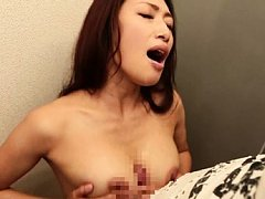 Reiko Kobayakawa Asian gets cum from cock she rubs...