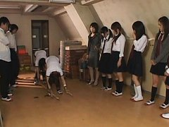 Japanese AV Model is fucked by her sports teacher...