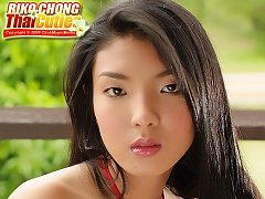 Teen Babe Riko Chong Armchair Strip