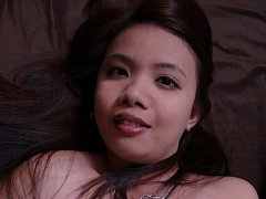 Horny Filipina Aiza is pimped out for sex by best...
