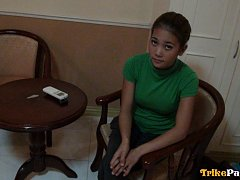 Two cute young Filipina sisters fucked in hotel at...