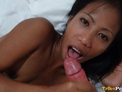 Petite Filipina girl picked up in a field and fuck...