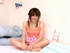 Yui Igawa Asian has pussy strongly fucked in her b...